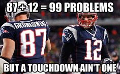 New England  Patriots = 99 problems