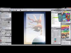 Learn how to master a variety of popular composition methods that will improve your digital artwork when painting with Corel Painter. Artist, Aaron Rutten ex. Composition Techniques, Corel Painter, Painting Tutorials, Video Tutorials, Brushes, Computers, Improve Yourself, Digital Art, Popular