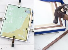 3 Custom-built frames you can make without any power tools, including this Float Mount Frame