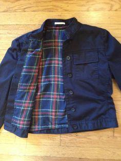 Looks so easy!! Sew Cute: Custom Lined Jacket