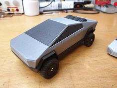 Tesla Cybertruck Model 1/20 and 1/30 Scale High Quality - 3D Printed EU STOCK! Tag Design, Biodegradable Products, 3d Printing, Prints, Model, Scale, Ideas, Self, Impression 3d