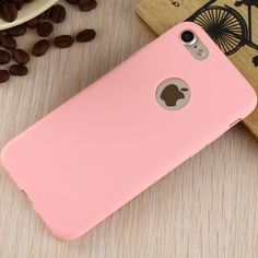 Matte Pink iPhone 7 Case