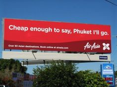 Air Asia y el juego de palabras