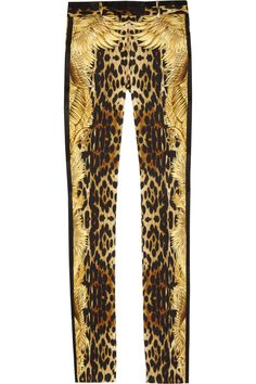 2359e995c8ea5 Roberto Cavalli - Animal Printed Silktwill Pants