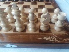 New beautiful handmade hazel wood chess piece,beech wood special beautiful flower handcarved chess board box,wooden chess set