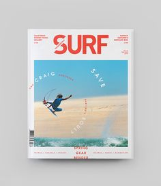 GREAT COVERS - click to see more  / from  transworld_surf_covers_redesign_creative_direction_design_wedge_and_lever151