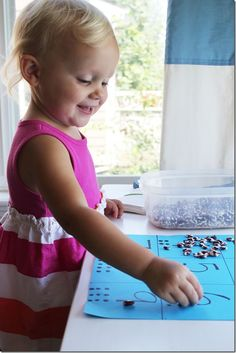 Between the ages of one and three years old children are able to organize information from their senses.