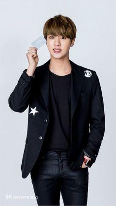 [SKTelecom/BLOG] 160315 #BTS #방탄소년단 @ Behind the Scenes #BTSxJessi CF #JIN
