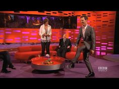 Benedict Cumberbatch does Beyonce's 'Crazy in Love' Walk - The Graham Norton Show on BBC America - YouTube