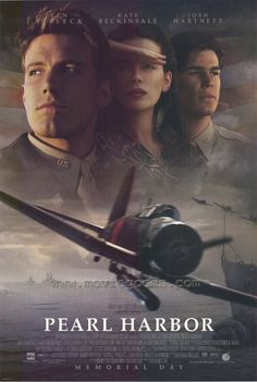 Rent Pearl Harbor starring Ben Affleck and Josh Hartnett on DVD and Blu-ray. Get unlimited DVD Movies & TV Shows delivered to your door with no late fees, ever. Epic Movie, Love Movie, Movie Tv, Great Films, Good Movies, Movies Showing, Movies And Tv Shows, Pearl Harbor Movie, Film Mythique