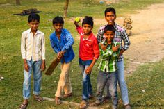 Lucknow, India. We were walking past the gallery by the clock tower when the local kids who were playing cricket ran towards us asking for us to take our picture, again no money requested.The kids were just happy to see themselves in digital form.