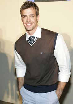 """Fall casual.  Sweater Vests are always """"in""""."""