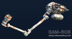 ArtStation - SAM-608 (Single Arm Manipulator), Paul Pepera
