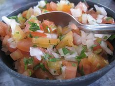 Fresh Salsa from Señor Iguanas Restaurant & Bar – San Miguel – Cozumel, Mexico