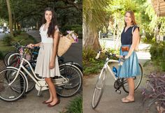 New! Bike-friendly skirt for commuting or casual rides.
