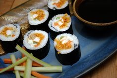 Buffalo Chicken Sushi | 20 Buffalo Chicken Recipes You Need To Try Right Now