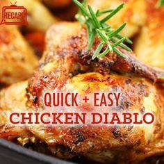 The Chew: Michael Symon's Quick and Spicy Chicken Diablo Recipe