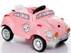New 2014 Animal Girls Pink Peace Mobile Ride On Toy Car 6V w Remote Control #BestRideOnCars