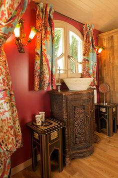 gypsy trailer bathroom