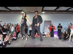 EDDIE TORRES Y SHANI TALMOR TALLER MAMBO en el FESTIVAL CON SENTIMIENTO DE MADRID 06 12 2013 - YouTube