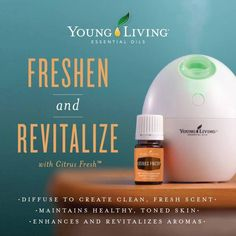 Young Living Essential Oils: Citrus Fresh