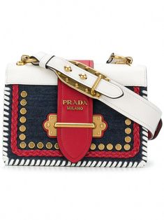 f04d10af21e3 Prada Cahier shoulder bag - Blue  Pradahandbags Prada Bag