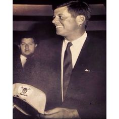 JFK with Raider Hat