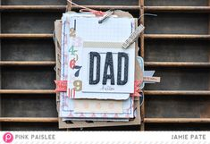fathers day tag journal album-1