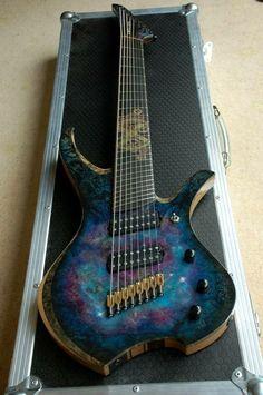 8-String Fanned Fret Custom
