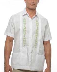 lime-green-mexican-wedding-shirt