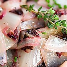 Duszona cykoria   Kwestia Smaku Pork, Meat, Recipes, Kale Stir Fry, Pigs, Recipies, Ripped Recipes, Recipe, Cooking Recipes
