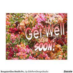 Bougainvillea Health Postcard