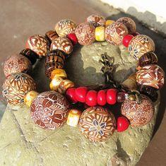 """Choco Choco"" Polymer clay beads | . | Pavla Cepelikova | Flickr"
