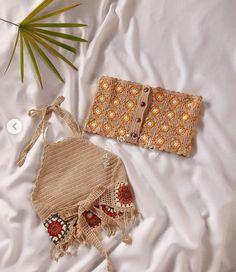 Diy Crochet, Crochet Dolls, Crochet Clothes, Hand Crochet, Hand Knitting, Crochet Purse Patterns, Crochet Purses, Yarn Projects, Crochet Projects