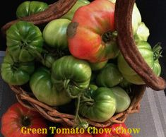 "This is my Dad's Green Tomato Chow-Chow recipe. I think it originates from Nova Scotia, Canada as it is also known as ""Nana's Chow-Chow. It is made only with green tomatoes and on… Green Tomato Relish, Green Tomatoes, Green Tomato Chow Chow Recipe, Grilled Chicken Leg Quarters, Beans And Cornbread, How To Make Pickles, Fresh Tomato Recipes, Fresh Turmeric, Pickling"
