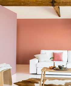 AkzNobel 2015 Color Trends - COPPER ORANGE  Orange comes back to protagonism as a full wall color, not a mere accent.   It combines well with PINKS -ORANGES-NEUTRALS AND WHITES.