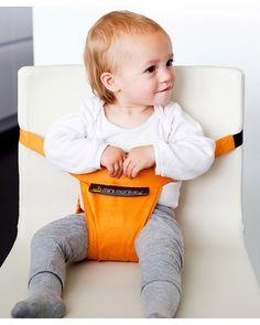 Minimonkey Minichair - Arancio (Seggiolino Universale da Tavolo- sta anche in borsa!) Seggiolini Da Viaggio