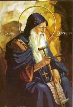 Saint of the Day – 17 January – St Anthony Abbot (c Monk and Hermit. Also known as: Anthony of Egypt Catholic Art, Catholic Saints, Religious Art, Anthony The Great, Happy Feast Day, San Antonio Abad, Saint Antony, Day Book, Orthodox Icons