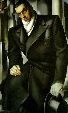Dandy.   / Tamara Lempicka, 1898 1980.