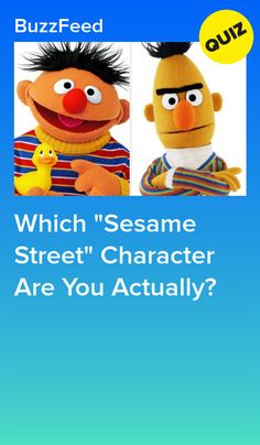 """Which """"Sesame Street"""" Character Are You Actually? Mickey Mouse Parties, Mickey Mouse Clubhouse, Mickey Mouse Birthday, Toy Story Party, Toy Story Birthday, Train Party, Pirate Party, Playbuzz Quizzes, Sesame Street Characters"""