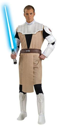 Now available from Bargains Delivered!  Star Wars Obi Wan... at http://www.bargainsdelivered.com/products/obi-wan-kenobi-dlx-costume?utm_campaign=social_autopilot&utm_source=pin&utm_medium=pin