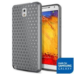 SPIGEN Premium Soft TPU Case for Galaxy Note III [Gray]