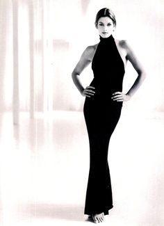 Cindy Crawford  in Oscar de la Renta