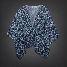 Bettys Stands Point Kimono Top | Bettys New Arrivals | HollisterCo.com