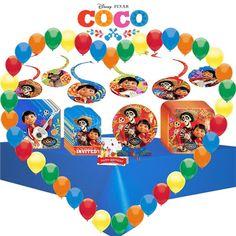 Disney Pixar Coco Birthday Party Supply Decoration Standard Tableware Kit Design | eBay