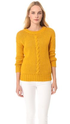 Robert Rodriguez Cable Knit Pullover