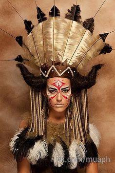 Die 8 Besten Bilder Zu Schminken Indianerin Indianer Schminken