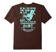 Amazon.com: Motocross Dirt Braaap T-Shirt Design: Clothing