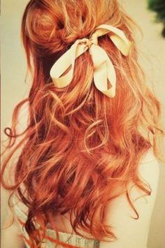 cabelo ruivo .))))