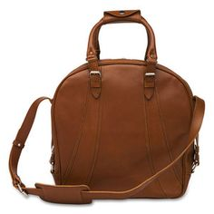 Big Bowling Bag Cognac now featured on Fab.